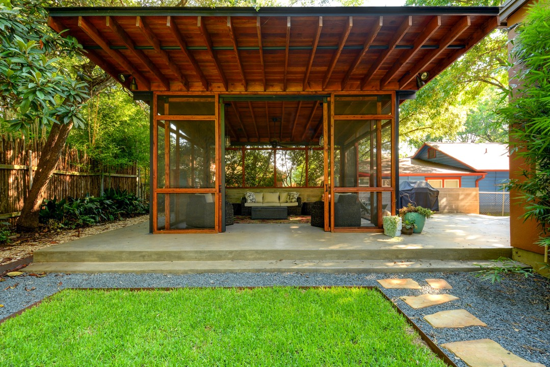 Bluebonnet Master Suite and Screened Porch Addition | AIA Austin