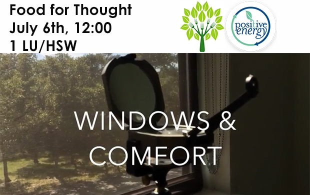 Food For Thought - Glazing & Comfort