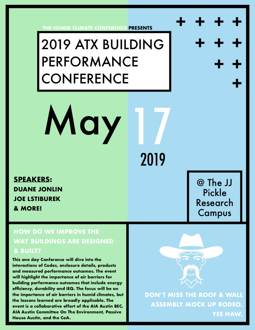 2019 ATX Building Performance Conference | AIA Austin