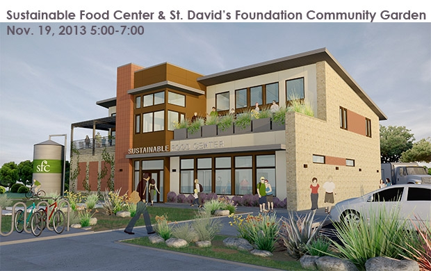 Tour - Sustainable Food Center | AIA Austin Sustainable Food Garden Design on sustainable permaculture, calendar design, sustainable landscapes and gardens, sustainable rooftop gardens, sustainable community gardens, sustainable urban drainage systems, small dairy farm design, sustainable garden supply, sustainable organic farming, low water front yard design, sustainable landscape principles, green building design, sustainable travel, sustainable vegetable garden, sustainable roof garden, sustainable living garden, sustainable garden home, sustainable environment, sustainable landscape professional, building entrance design,